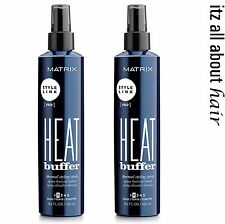 Matrix Style Link Heat Buffer Thermal Styling Spray 250ml x 2  Heat Protection