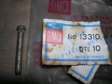 SIMCA ARONDE POCHETTE DE 10 GOUPILLES 13310 NEUF ORIGINE D'EPOQUE