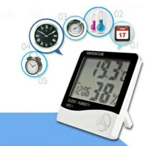 ABS Thermometer Digital LCD Display Hygrometer Temperature Humidity Meter New