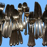 Retroneu 20 Piece Stainless Flatware Set, Service for 4 - CHOICE of Pattern