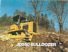 Equipment Brochure - John Deere - JD 550 - Bulldozer - c1977 (E3686)