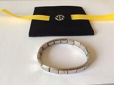 Brand New Genuine Nomination Bracelet, Rose Gold Star Charm, 18 Links Gift Bag