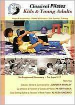 CLASSICAL PILATES: KIDS & YOUNG ADULTS (Peter Fiasca) - DVD - Region Free