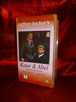 Rare OOP Kane & Abel VHS Video Box Set Volumes One & Two Sam Neill Peter Strauss