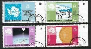 BAT 1981, 20th Anniversary of Antarctic Treaty sg99/102 VFU