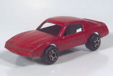 "Vtg Tootsietoy Pontiac Firebird 2"" Die Cast Scale Model 1982 1983 1984 1985 1986"