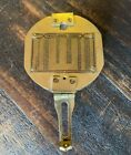 Vintage Antique Natural Sine Solid Brass Compass Nautical Surveying Instrument