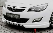 Rieger Frontspoilerlippe für Opel Astra J Schrägheck/ SportsTourer bis Facelift