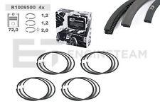 4x Kolbenringsatz R1009500 FIAT Doblo LANCIA Delta ALFA ROMEO 1,4 71753734