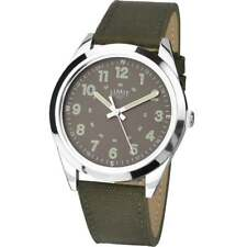 Limit Military Style Dial Nylon and Leather Strap Gents Watch