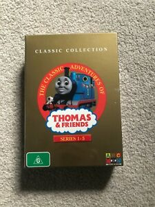 Thomas & Friends Series 1-5 Boxset Classic Collection (Region 4) *Brand New*