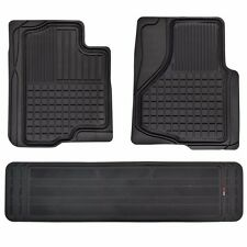 HD 3D Rubber Custom Fit Floor Mats for Ford F-150 2009-2014 F150 3pc w/ Liner