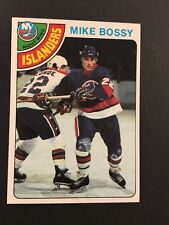 1978-79 TOPPS #115 MIKE BOSSY NEW YORK ISLANDERS ROOKIE HOCKEY CARD NM