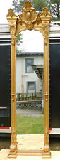 Phenomenal Gold Guilt Pier Mirror 19th Century