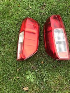 Nissan Navara D40 Rear Light Cases
