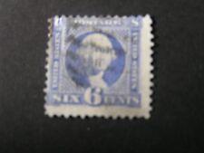 *UNITED STATES, SCOTT # 115, 6c VALUE ULTRA 1869 WASHINGTON W/GRILL ISSUE USED