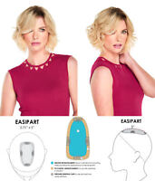easiPart HD 8 in Short Monofilament Heat Friendly Jon Renau Wavy Hair Pieces