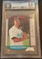 2000 Bowman Draft Picks: 2000 #86 Adrian Gonzalez RC 8.5