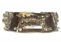 Beautfiul Ladies Sterling Silver Leaf Design Bracelet - Take A Look!