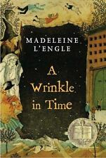 A Wrinkle in Time Madeleine L'Engle paperback book FREE SHIPPING lengle quintet