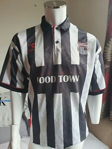 Grimsby Town  1995 - 96 Diadora Home Shirt Size  X Large  Europe's Food Town