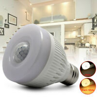 E27 5W Night Bulb PIR Infrared Motion Sensor Detector LED Auto Lamp Light Bright