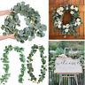 DIY Wedding Garland Eucalyptus Vine Wreath  Foliage Artificial  Leaves Rattan