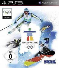 Sony PS3 Playstation 3 Spiel Vancouver 2010 WinterSports Olympische Winterspiele