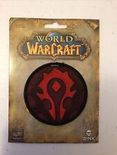 World Of Warcraft Horde Iron On Patch
