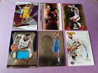 ANTHONY DAVIS 2011-12 ROOKIE CARD + Select JERSEY + LEBRON JAMES RC 2 UD 19-20