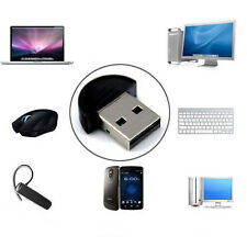 Mini USB Bluetooth V2.0 Dongle Adapter for Laptop PC Win Xp Win7 8 iPhone4GS 5GS