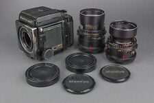 Mamiya RB67 Medium Format SLR Film Camera with 250mm Lens and 180mm Lens Kit
