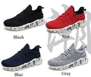 Men's Shoes Sneakers Non-slip Walking Sports Athletic Casual Running Tennis Gym