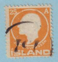 ICELAND 91 USED   NO FAULTS VERY FINE !