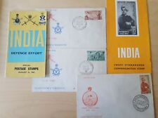 Nice collection of 2 number Indian First Day covers with information sheet 1963
