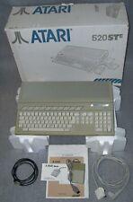 Atari ST Computer 520 STE 4MB Memory TOS 1.62 Mouse Games DMA C398739-001 BOXED