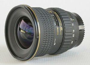 Tokina 12-24mm AT-X PRO SD F4 (IF) DX, wide zoom lens, Nikon mount, VG condition