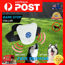 ADJUSTABLE ANTI BARK DOG COLLAR STOP BARKING AUTOMATIC DOG PET TRAINING COLLAR