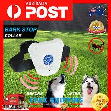 ADJUSTABLE ANTI BARK DOG COLLAR STOP BARKING AUTOMATIC DOG PET TRAINING COLLAR