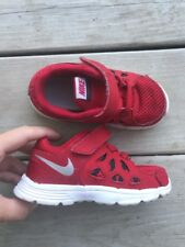NIKE red shoes toddler boy sz  8 ***