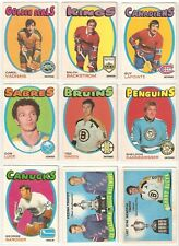1971-72 OPC PART  SET 140/264, w STARS, HOFERS & RC!!   OVER HALF OF THE SET!!