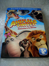 NIB Brand New Never Opened Animals United Adventures in Africa 2012 Animated DVD
