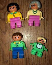 LEGO Duplo Vintage Figures Grandma BABY MOM DAD