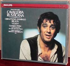 PHILIPS CD 416-137-2: Mascagni: Cavalleria Rusticana, Prêtre, Domingo - 1985 DEU