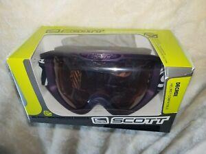Scott Decree Ski Goggles  PURPLE