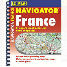 Philip's Navigator Road Atlas France Book by Philip's Maps 9781849074636 NEW