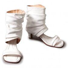 LIMI feu leather bootie flip-flops Size S(K-31348)