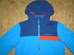 Ziener Skijacke Snowboardjacke Jungen Winterjacke mit Kapuze Gr. 152 *TOP*