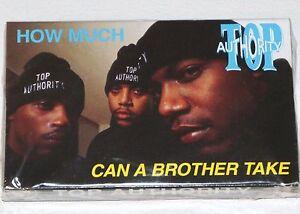 "TOP AUTHORITY TAPE CASSETTE How Much REMIX G-Funk Random 94 Rap record 12"" lp 45"