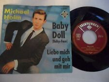 Michael Holm-Baby Doll (baby-face) - single 1964 D-telefunken 55493